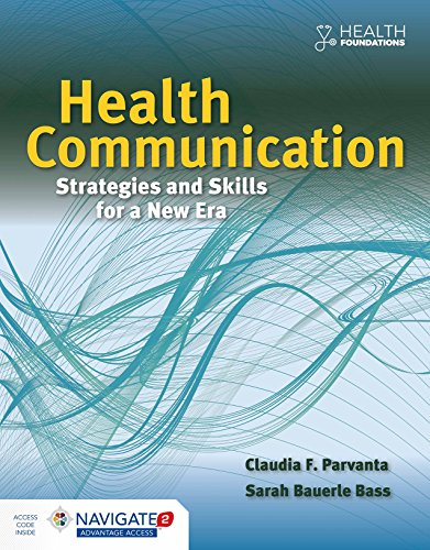 Health Communication Strategies and Skills for a New Era   2020 9781284065879 Front Cover