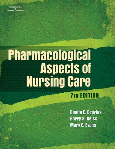 Pharmacological Aspects of Nursing Care  7th 2007 (Guide (Pupil's)) 9781401888879 Front Cover