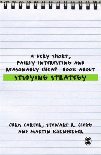 Very Short, Fairly Interesting and Reasonably Cheap Book about Studying Strategy   2008 edition cover