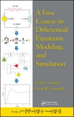 First Course in Differential Equations, Modeling, and Simulation   2012 edition cover