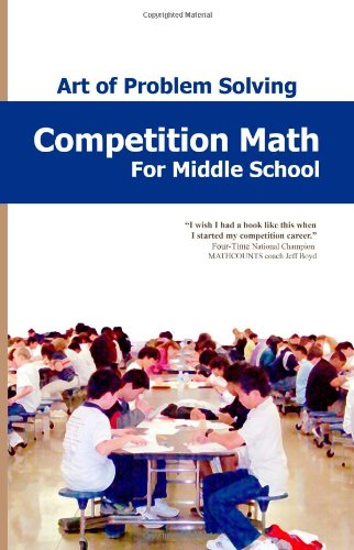 Competition Math For Middle School N/A edition cover