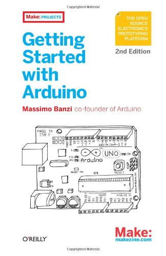 Getting Started with Arduino  2nd 2011 edition cover