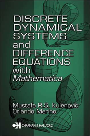 """Discrete """"Dynamical"""" Systems and Difference Equations with Mathematica   2002 edition cover"""