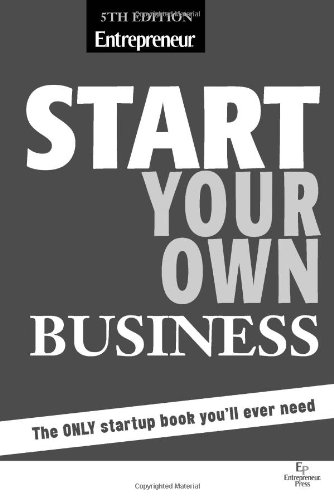 Start Your Own Business  5th 2011 edition cover