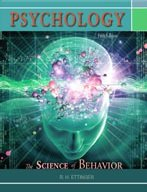 PSYCHOLOGY:SCIENCE OF BEHAVIOR N/A edition cover