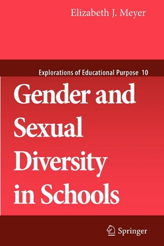 Gender and Sexual Diversity in Schools   2010 edition cover