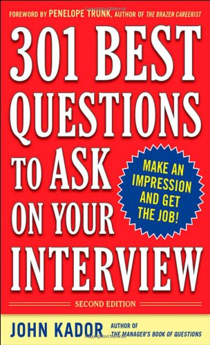 301 Best Questions to Ask on Your Interview  2nd 2010 edition cover