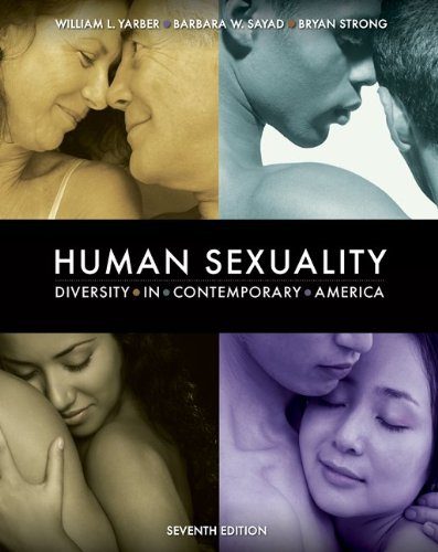 Human Sexuality Diversity in Contemporary America 7th 2010 edition cover