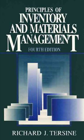 Principles of Inventory and Materials Management  4th 1994 9780134578880 Front Cover