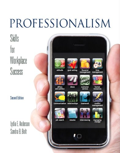 Professionalism Skills for Workplace Success 2nd 2011 edition cover