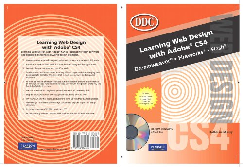 Learning Web Design with Adobe CS4   2010 9780135076880 Front Cover