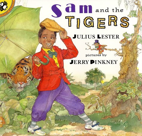 Sam and the Tigers A Retelling of 'Little Black Sambo' N/A 9780140562880 Front Cover
