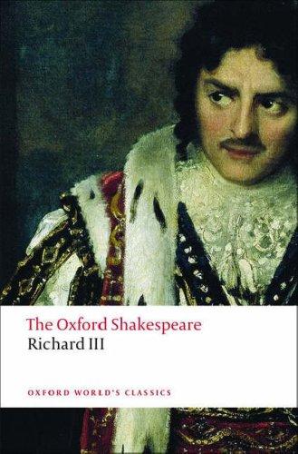 Oxford Shakespeare - Richard III   2008 edition cover