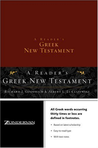 Reader's Greek New Testament   2004 edition cover