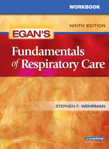 Fundamentals of Respiratory Care  9th 2008 (Workbook) edition cover