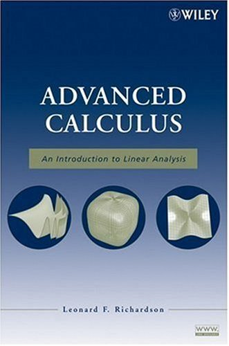 Advanced Calculus An Introduction to Linear Analysis  2008 edition cover