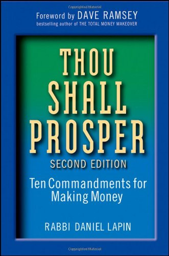Thou Shall Prosper Ten Commandments for Making Money 2nd 2010 edition cover
