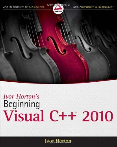 Beginning Visual C++ 2010   2010 edition cover