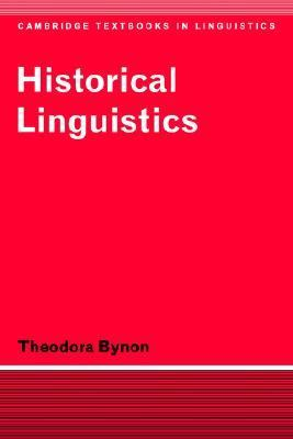 Historical Linguistics   1977 9780521291880 Front Cover