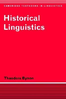 Historical Linguistics   1977 9780521291880 Front Cover