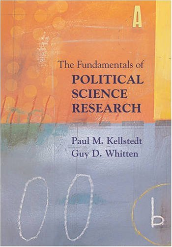 Fundamentals of Political Science Research   2009 edition cover