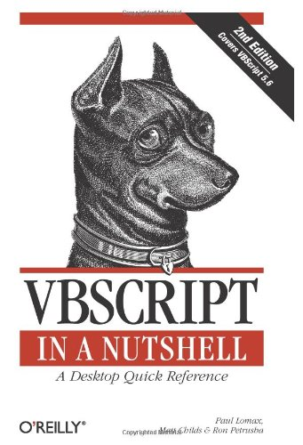 VBScript in a Nutshell  2nd 2003 edition cover