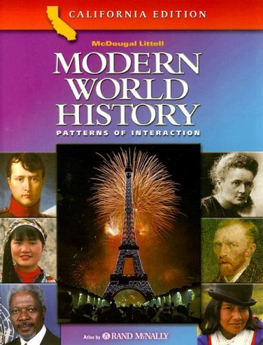 Modern World History California Edition : Patterns of Interaction  2003 9780618184880 Front Cover