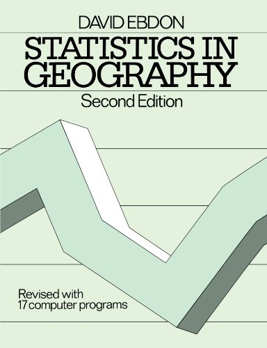 Statistics in Geography Revised with 17 Computer Programs 2nd 1986 (Revised) edition cover