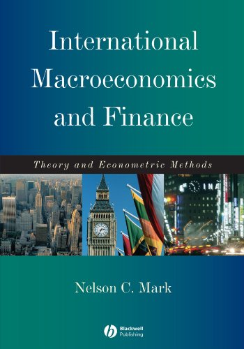 International Macroeconomics and Finance Theory and Econometric Methods  2001 edition cover