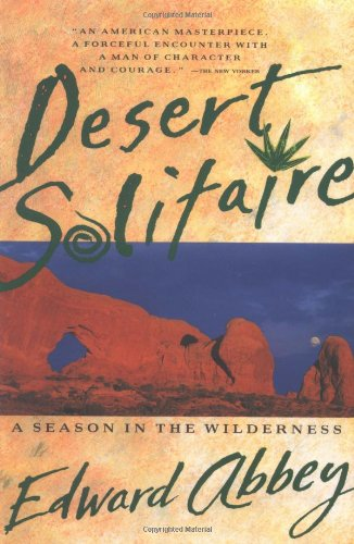 Desert Solitaire   1990 edition cover