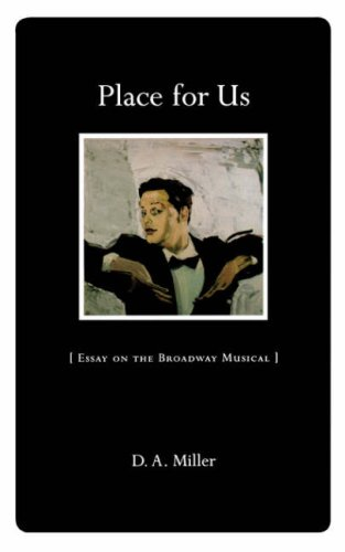 Place for Us Essay on the Broadway Musical  1998 edition cover