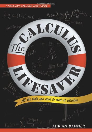 Calculus Lifesaver All the Tools You Need to Excel at Calculus  2007 edition cover