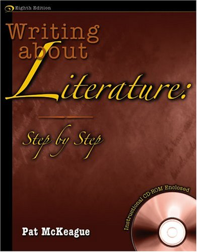 Writing about Literature Step by Step W/ Cd 8th 2005 (Revised) 9780757515880 Front Cover