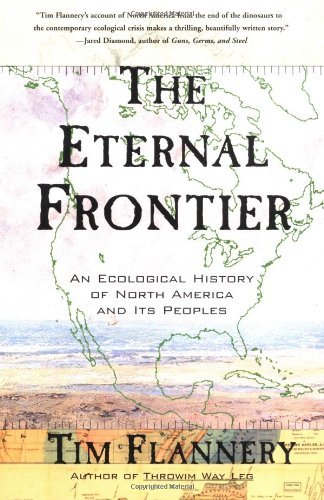 Eternal Frontier An Ecological History of North America and Its Peoples N/A edition cover