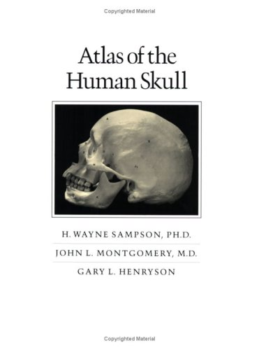 Atlas of the Human Skull   1991 9780890964880 Front Cover