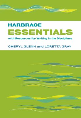 Harbrace Essentials with Resource for Writing in the Disciplines   2013 9781133590880 Front Cover