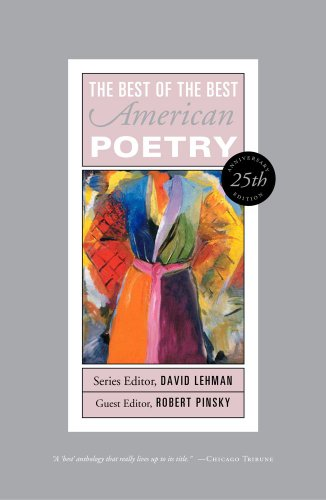 Best of the Best American Poetry  25th 2013 edition cover