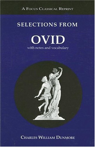 Selections from Ovid With Notes and Vocabulary  2003 edition cover
