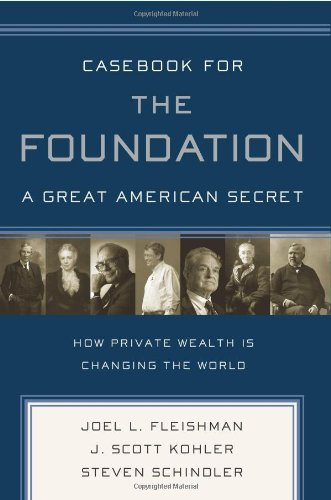 Casebook for the Foundation A Great American Secret  2007 edition cover