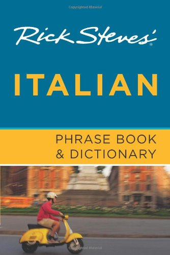 Rick Steves' Italian Phrase Book and Dictionary  6th edition cover