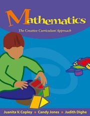 Mathematics The Creative Curriculum Approach  2007 9781879537880 Front Cover