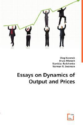 Essays on Dynamics of Output and Prices N/A 9783836499880 Front Cover
