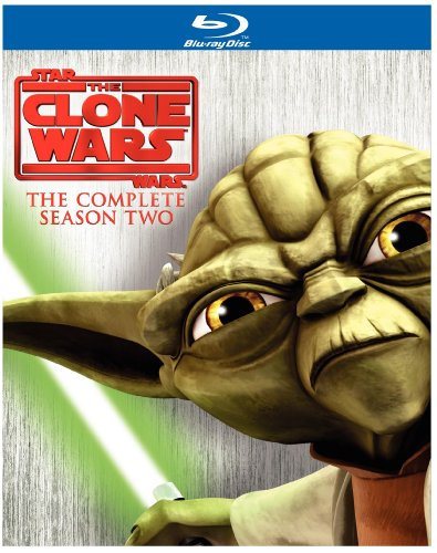 Star Wars: The Clone Wars: Season 2 (Repackage) [Blu-ray] System.Collections.Generic.List`1[System.String] artwork