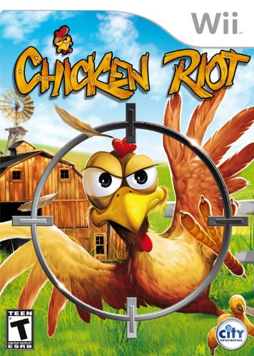 Chicken Riot Nintendo Wii artwork