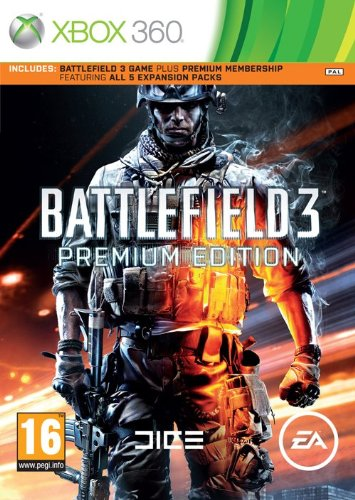 Battlefield 3 Premium Edition (Xbox 360) Xbox 360 artwork