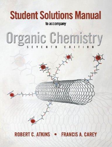 Solutions Manual to accompany Organic Chemistry 7th 2008 edition cover