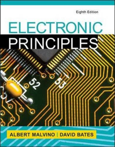 Electronic Principles:   2015 9780073373881 Front Cover
