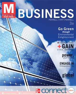 M: Business with Connect Plus  3rd 2013 edition cover