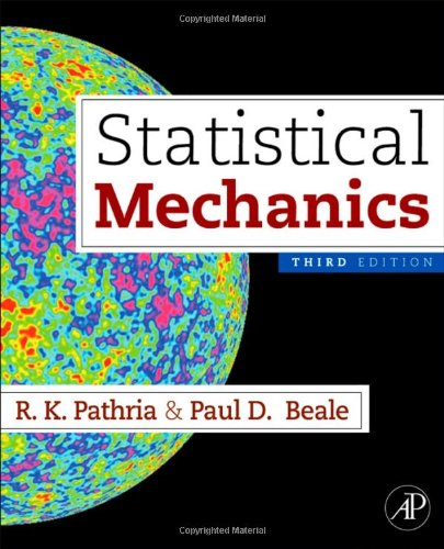 Statistical Mechanics  3rd 2011 edition cover