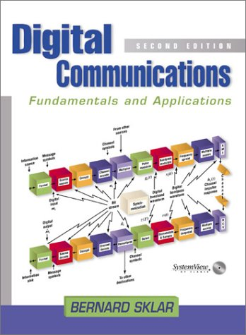 Digital Communications Fundamentals and Applications 2nd 2001 (Revised) edition cover